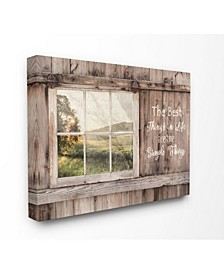 Simple Things Rustic Barn Window Distressed Photograph Collection