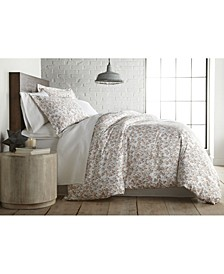 Forevermore Luxury Cotton Sateen Duvet Cover and Sham Set, King