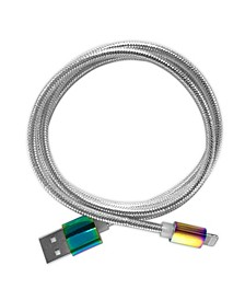 Iridescent Apple Certified Lightning Mfi Charging Cable- iPhone Charger