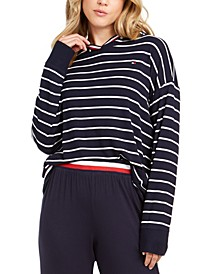 Nautical Crossover-Back Sleep Hoodie