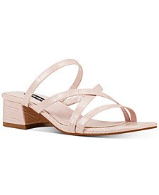 Remy Block-Heel Slide Sandals