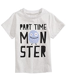 Toddler Boys Part-Time Monster T-Shirt, Created for Macy's