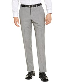 Armani Exchange Men's Classic-Fit Light Grey Suit Pants, Created for Macy's