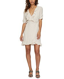 Heart Throb Ruffled Wrap Dress