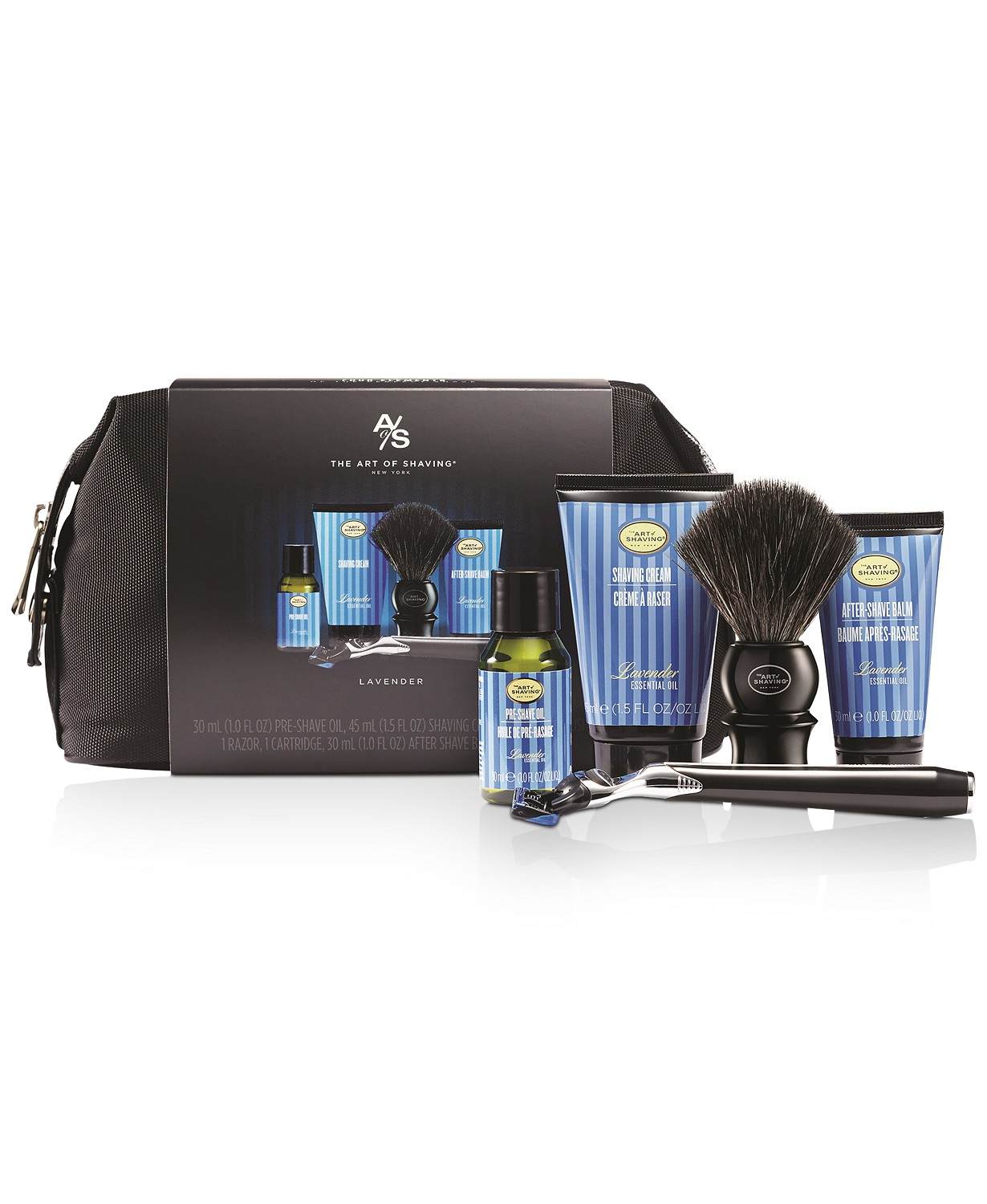 The Men's 6-Pc. Mid-Size Morris Park Lavender Travel Set