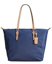 Julia Zipper Nylon Tote