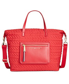 Clara Quilted Tote