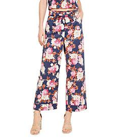 Marella Floral-Print Wide-Leg Pants
