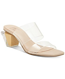 INC Women's Calantha Slide Dress Sandals, Created for Macy's