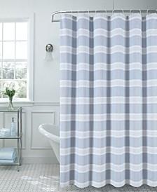 "Madison Striped 70"" x 72"" Shower Curtain"