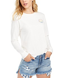 Juniors' Salty Sea Society Cotton T-Shirt