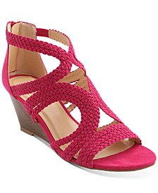 Sampson Strappy Wedge Sandals