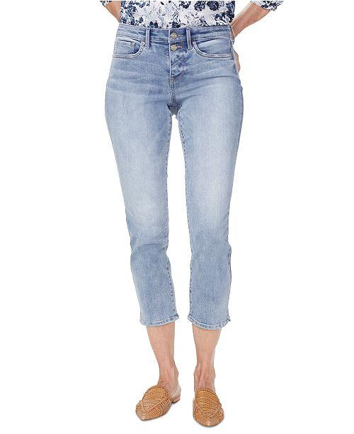 NYDJ Tummy-Control Sheri Cropped Jeans
