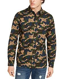 Men's Casey Camo Shirt, Created for Macy's