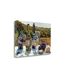 A Wine Tasting by Marilyn Hageman Giclee Print on Gallery Wrap Canvas