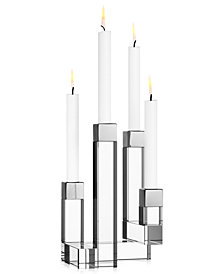 Orrefors Chimney 4-Armed Candle Holder