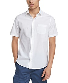 Men's Stretch Seersucker Short Sleeve Shirt