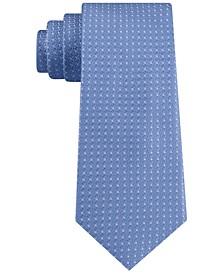 Men's Interconnected Geo-Dot Tie