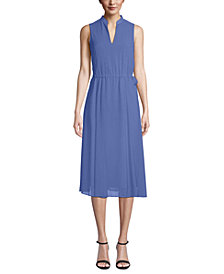 Anne Klein Drawstring Midi Dress