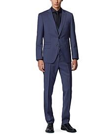 BOSS Men's Huge 6 / Genius 5 Dark Blue Suit