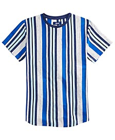 Big Boys Broth Textured Stripe T-Shirt