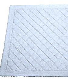 "Excellent Diamond 24"" x 36"" Bath Rug"