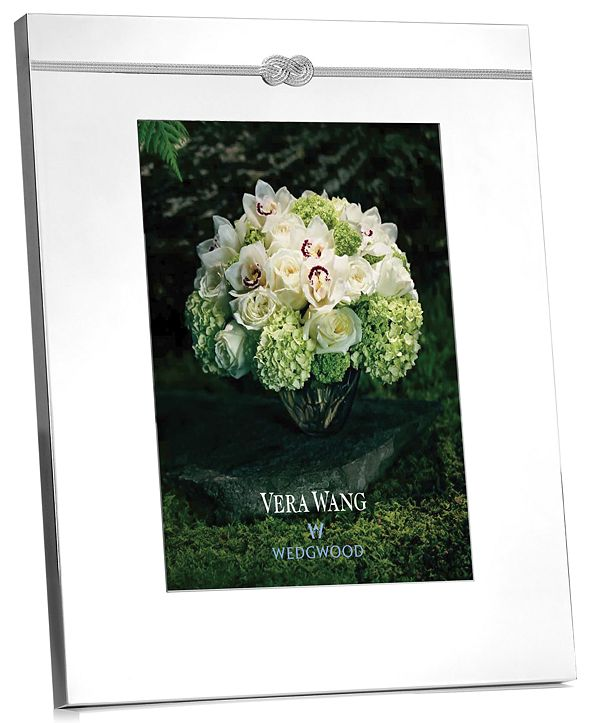 "Vera Wang Wedgwood Infinity 8"" x 10"" Picture Frame"