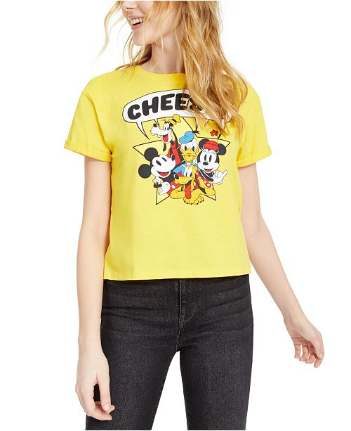 Mad Engine Disney Juniors' Mickey & Friends Graphic T-Shirt by Mad Engine