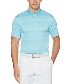 Men's Big & Tall Striped Golf Polo