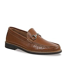 Men's Rolled Moc Slip-On with Ornament
