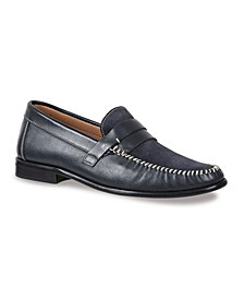 Men's Whip Stitch Moc with Strap
