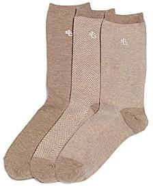 Women's Tweed Cotton Trouser 3 Pack Socks