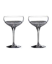 Mixology Circon Large Coupe Glasses, Set of 2