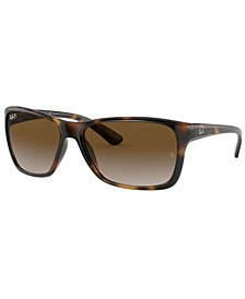 Polarized Sunglasses, RB4331 61
