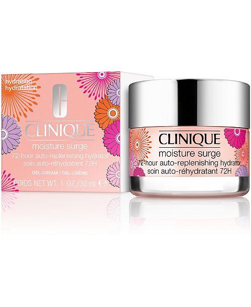 Clinique Limited Edition Moisture Surge 72-Hour Auto-Replenishing Hydrator, 1-oz.