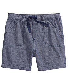 Toddler Boys Cotton Chambray Shorts, Created For Macy's