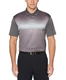 Men's Ombré Fade Golf Polo