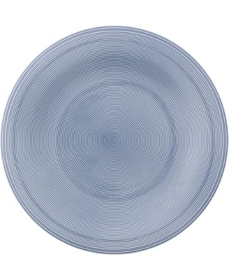 Color Loop Horizon Blue Salad Plate