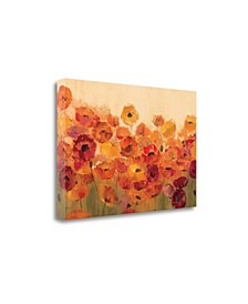 Summer Poppies by Silvia Vassileva Giclee Print on Gallery Wrap Canvas