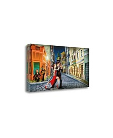 Tango by Adam Perez Fine Art Giclee Print on Gallery Wrap Canvas