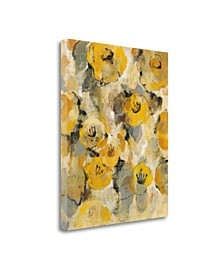 Yellow Floral II by Silvia Vassileva Giclee Print on Gallery Wrap Canvas