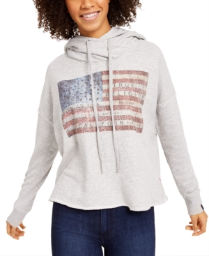 True Religion Embellished Graphic Sweatshirt