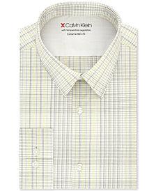Calvin Klein Men's Extra-Slim Fit Multi-Check Dress Shirt