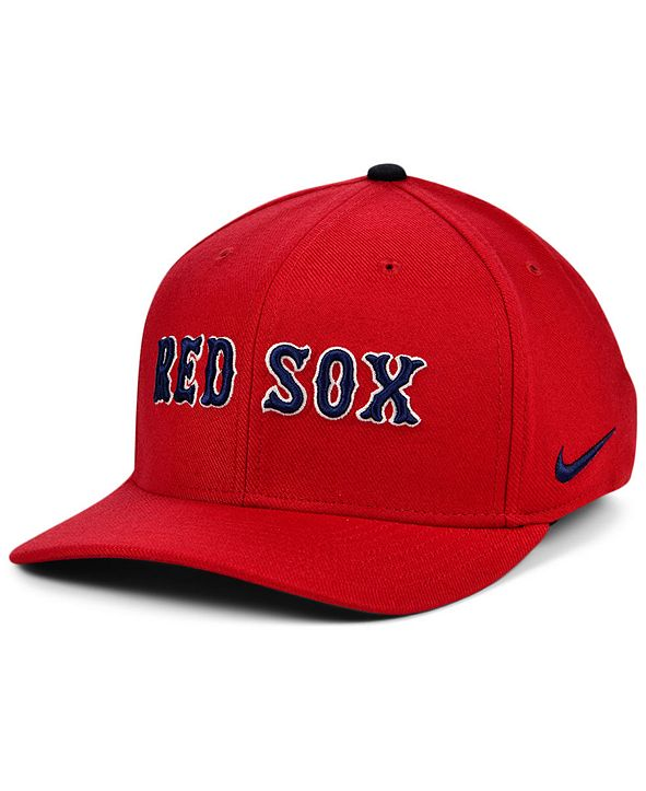 Nike Boston Red Sox Legacy 91 Dri-FIT Swooshflex Stretch Fitted Cap