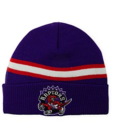 Toronto Raptors HWC Retro Stripe Knit Hat