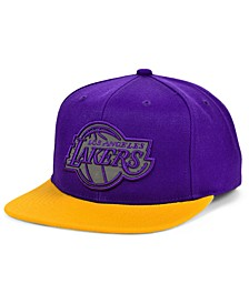 Los Angeles Lakers 2 Team Reflective Snapback Cap