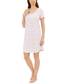Cotton Sleep Shirt Nightgown, Created for Macy's