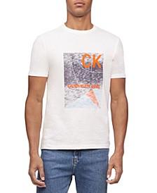 Calvin Klein Men's Courtside CK Logo T-Shirt