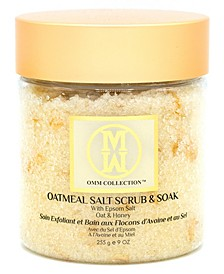 Oatmeal Salt Scrub Soak With Epsom Salt, 9 oz
