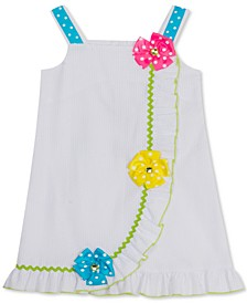 Baby Girls Seersucker Flower Sundress